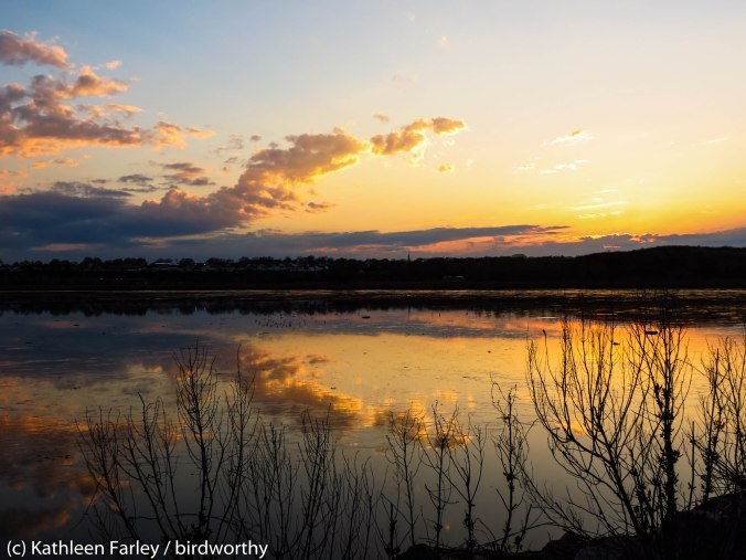 Sunset at the Meadowlands. Meadowlands, NJ. Photo taken on May 1, 2014.